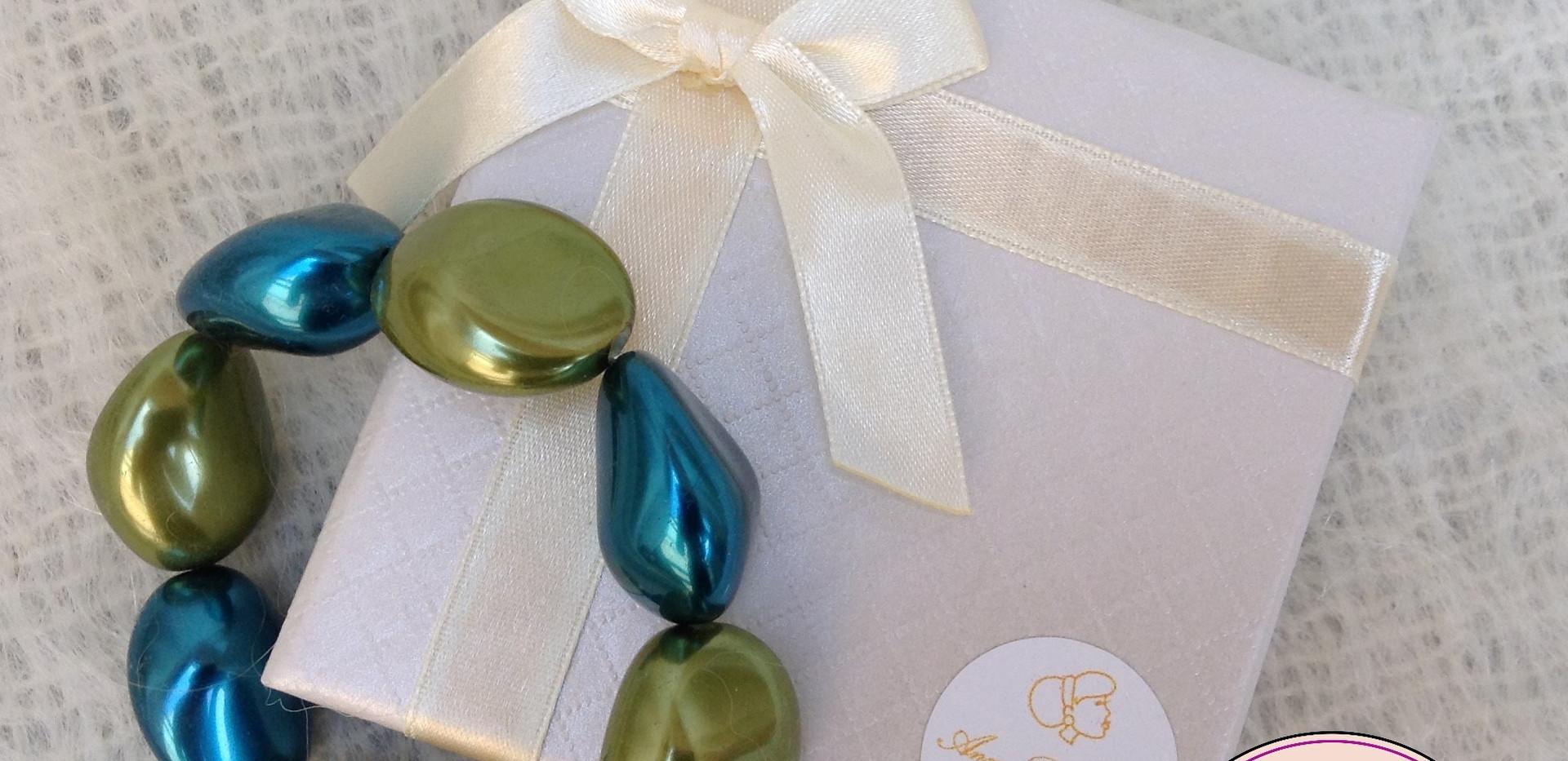 Art Line Geschenk op maat - Armband kei