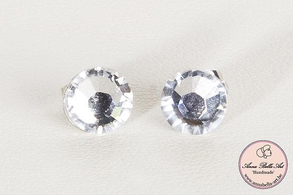 Bella Alicia oorbellen - Swarovski Diamant 7mm