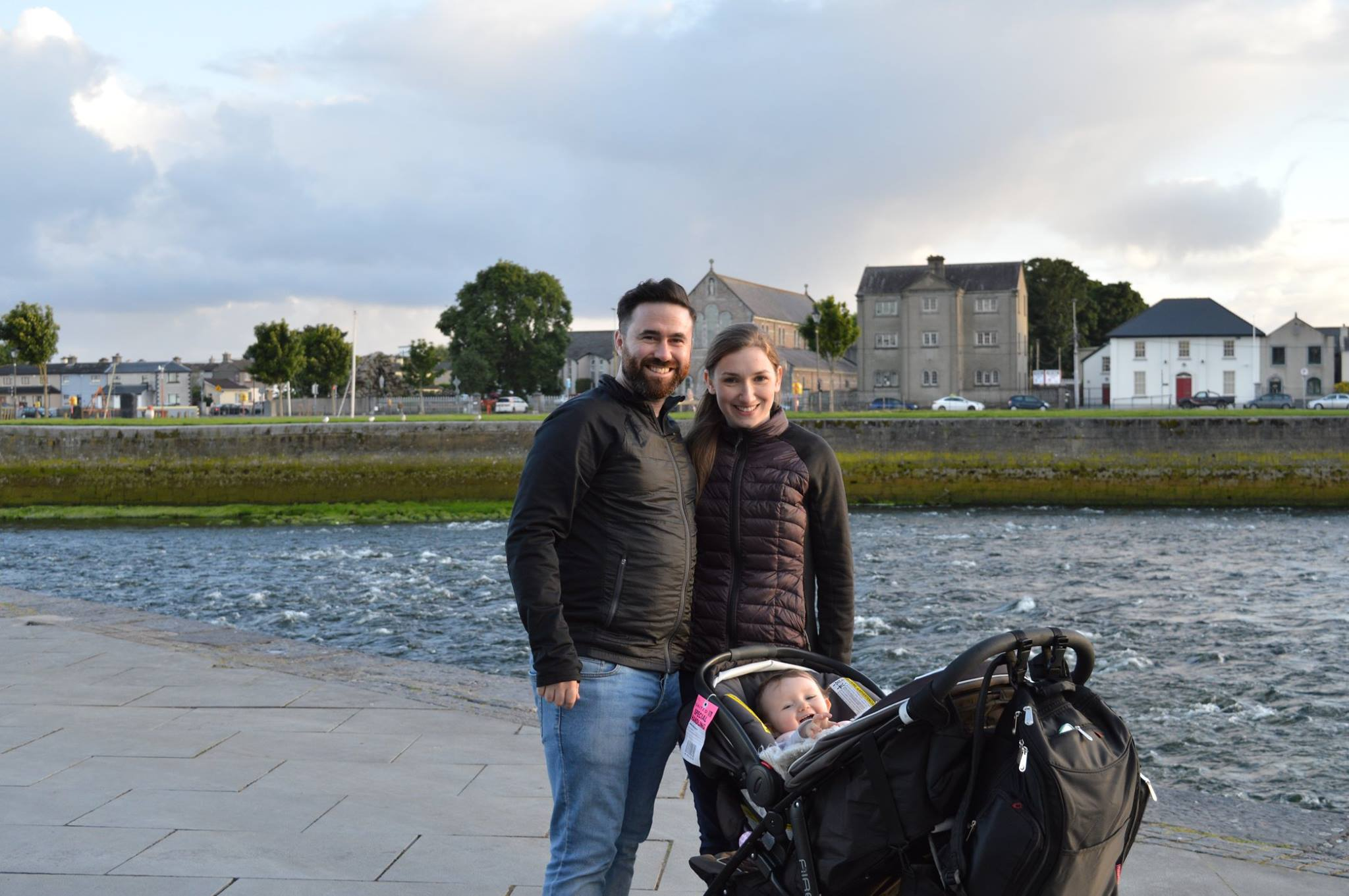 Erin and Andrew in Galway, 2016