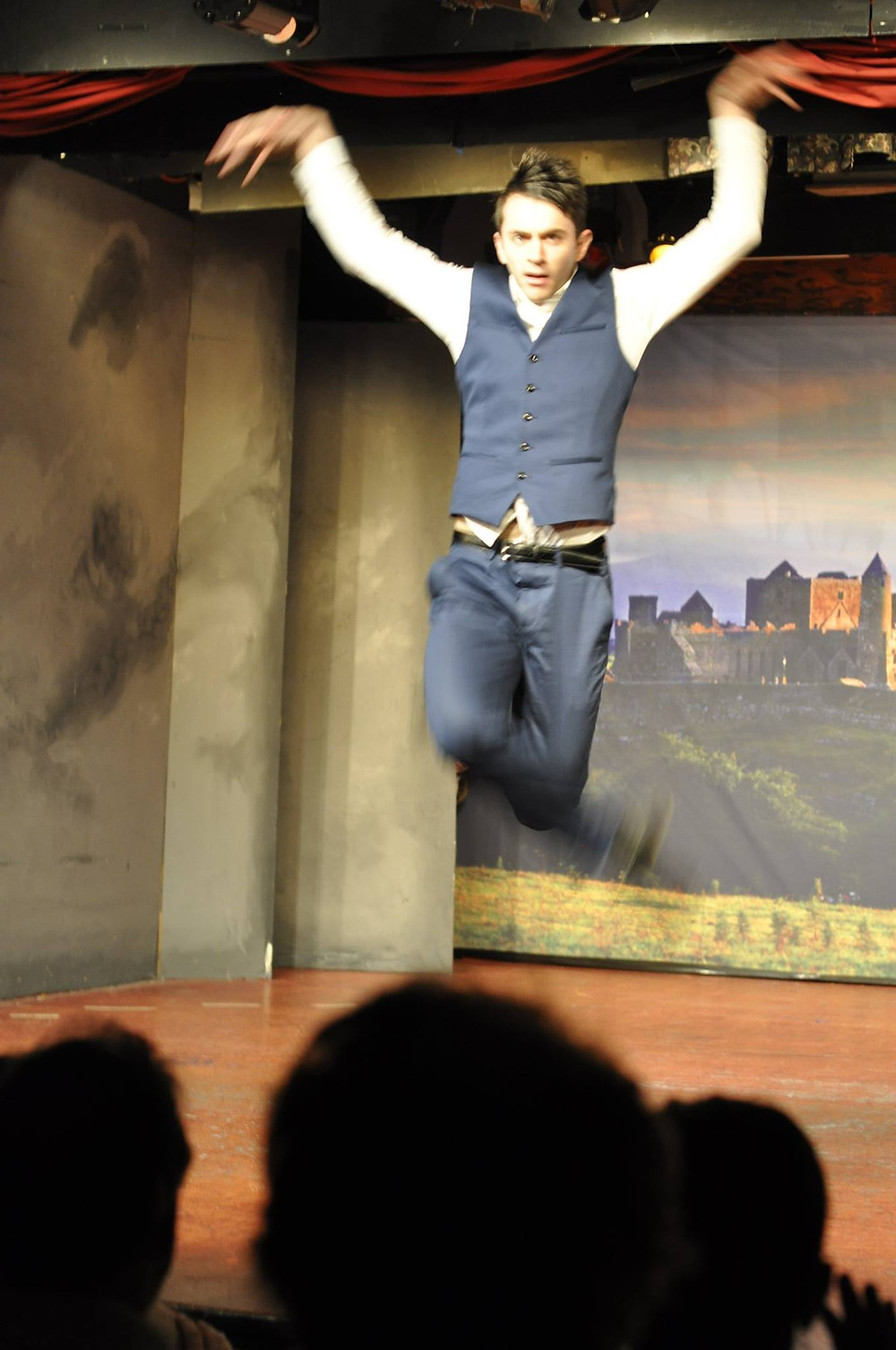 Mr Jonathon's crazy jump!