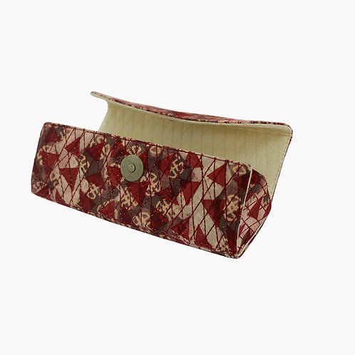 Multi Coloured Handblock Printed Spectacle Case