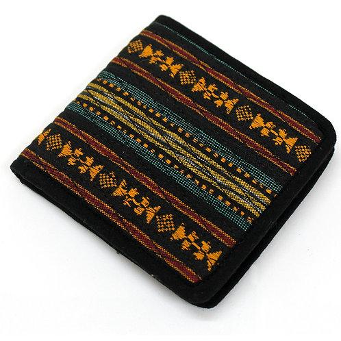 Multi Color Handwoven Ikat Wallet