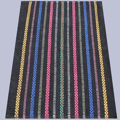 Multicoloured Handwoven Yoga Mat