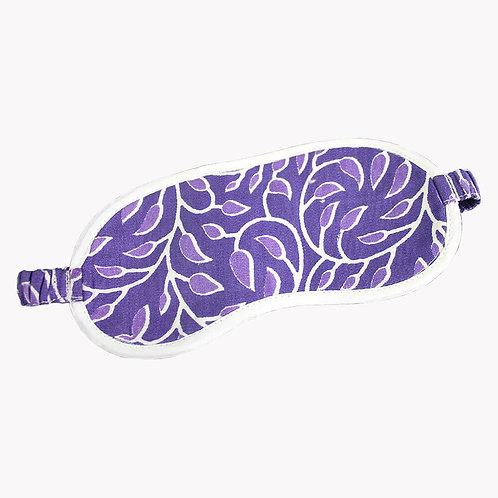 Purple Handwoven Eye Cover