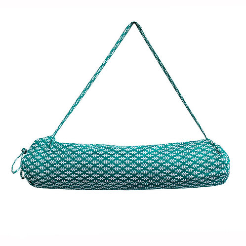 Handwoven Printed Yoga Mat Bag