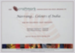 Craftmark Certificte for Navrang Creations