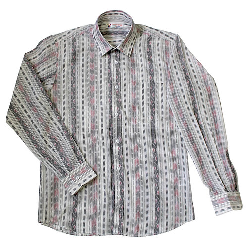 Handwoven Ikat Full Sleeves Shirt
