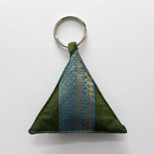 Triangle Key Chain