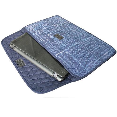 Indigo Handblock Printed Laptop Sleeve