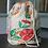 Thumbnail: Red Green Handwoven Handwoven Cotton Hand Printed Potli Bag