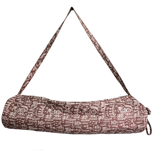 Handwoven Printed Yoga Mat Bag