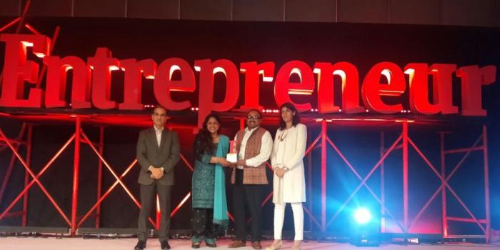 Winner of Entrepreneur Award