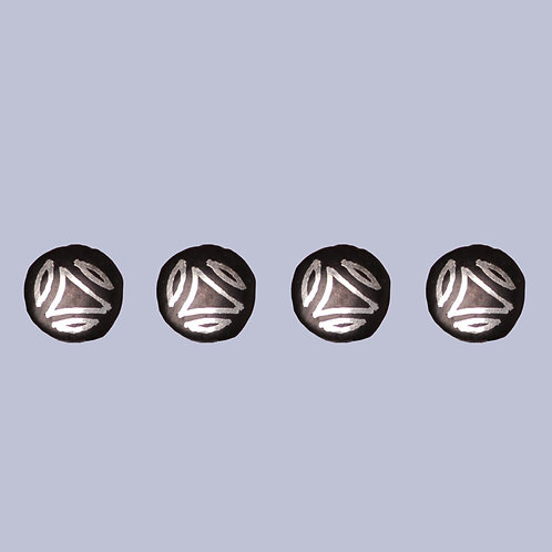Bidri Work Kurta Buttons