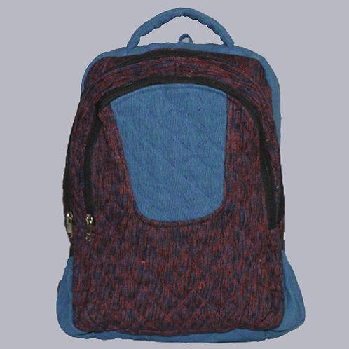Patch Work Handwoven Chevron Designer Haversack Bag