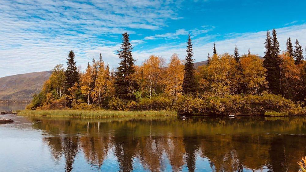 Природа и рыбалка Кольского полуострова