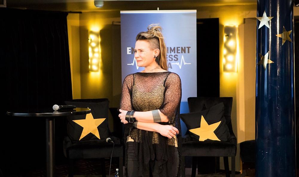 Jenni Ahtiainen, Deafmetal. Image: EBA/Jukka Vahter.
