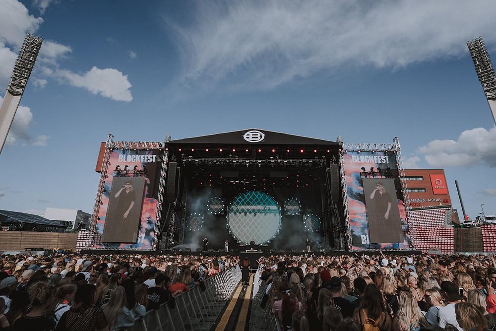 Blockfest 2019 Ratinan stadionilla. Kuva: Jussi Paakkinen