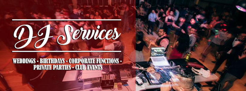 DJ Services by Peter Araiza