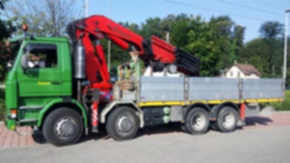 Ernst Schmid Transporte - Kranfahrzeug