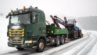 Transport im Winter