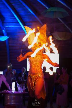 Dance enflammé
