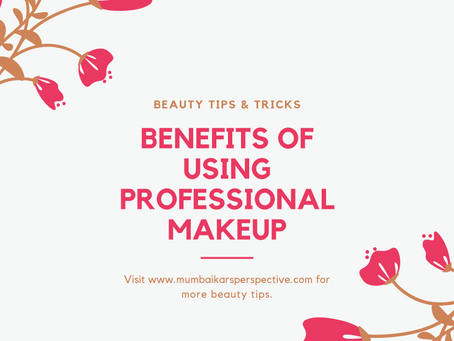 Benefits Of Using Professional Makeup