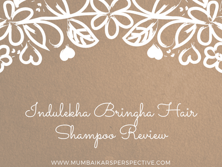 Indulekha Bringha Hair Shampoo Review