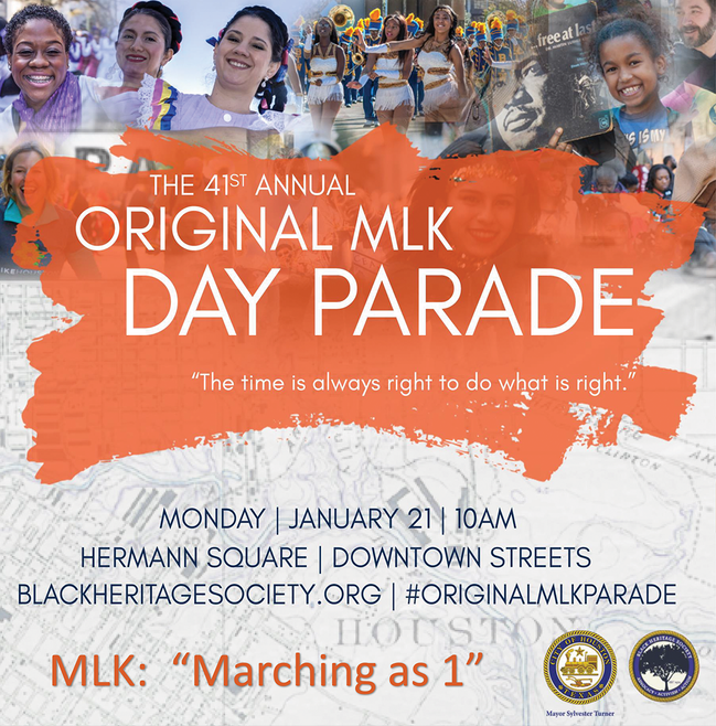 MLK Day Parade Graphic