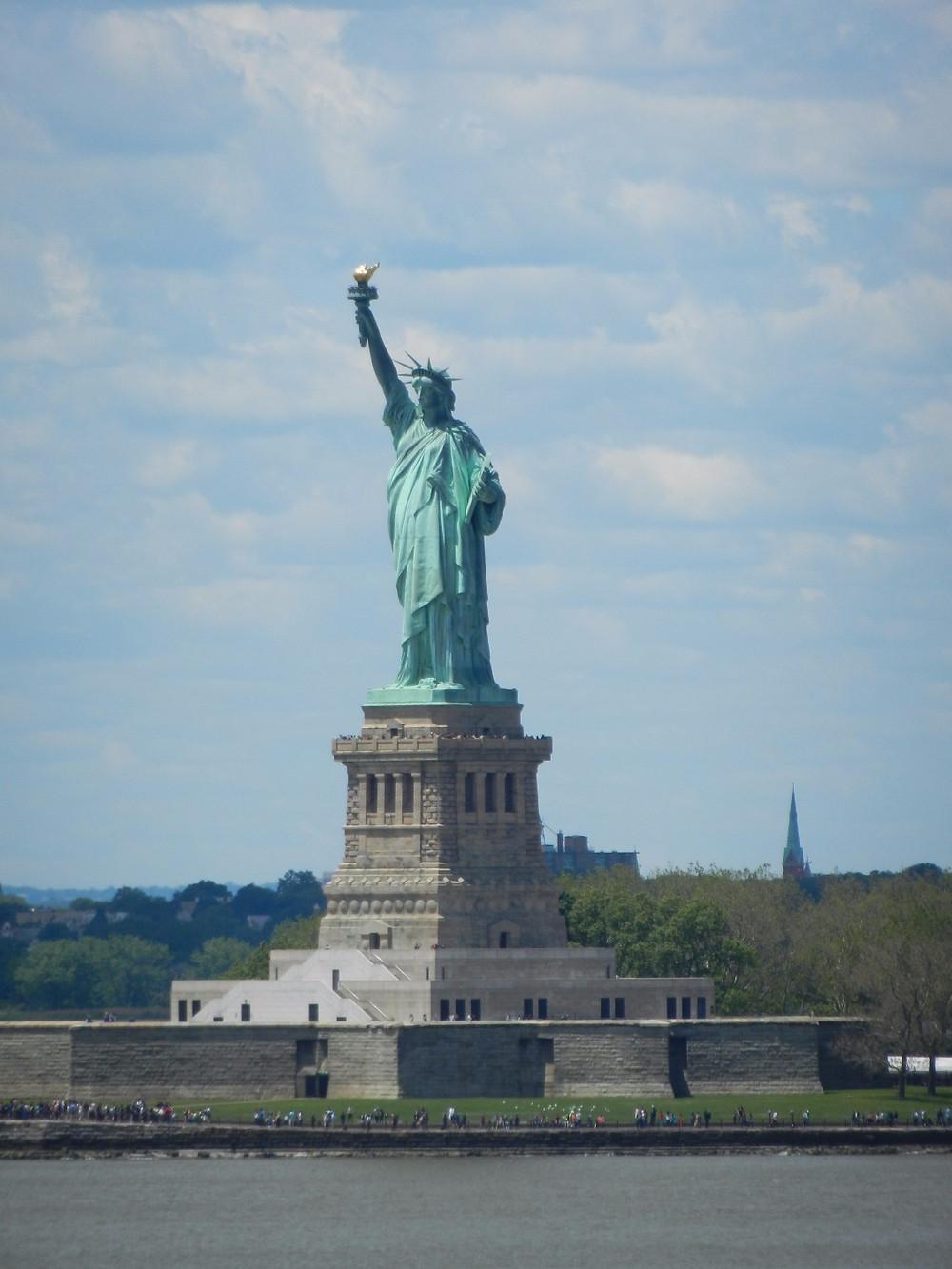 Vue sur la Statue de la Liberté depuis Governor Island