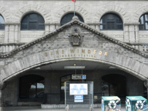 La Gare Windsor et la salle des pas perdus