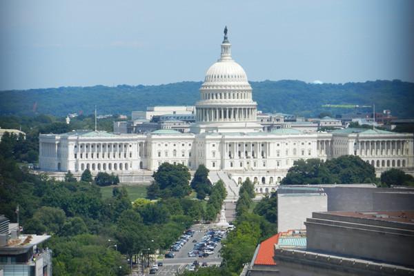 Vue sur le Capitol depuis le Old Post Office