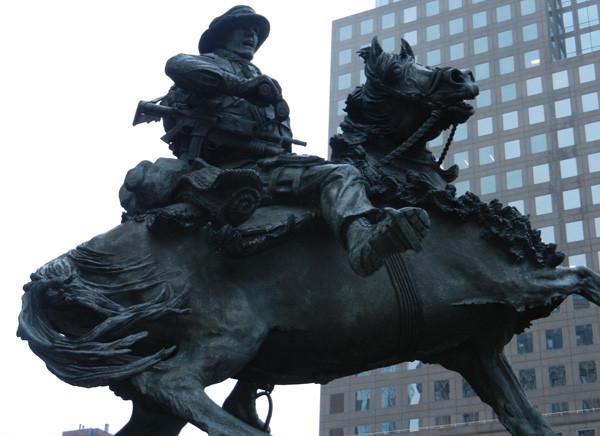 Sculpture du America's Response Monument