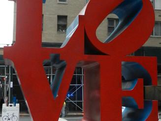 Sculptures LOVE & HOPE à New York