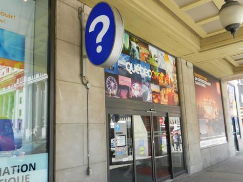 Le centre Info-touriste de Montréal