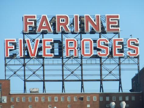 Enseigne lumineuse Five Roses