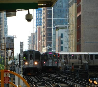 Le métro de Chicago, le 'L'