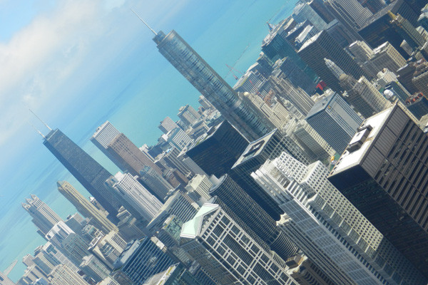 Chicago vue depuis la Willis Tower