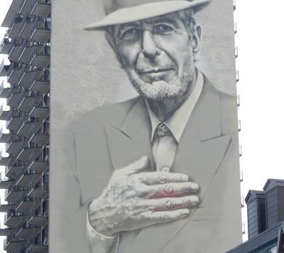 Murale de Leonard Cohen