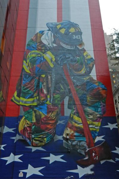 Le pompier de Kobra, New York