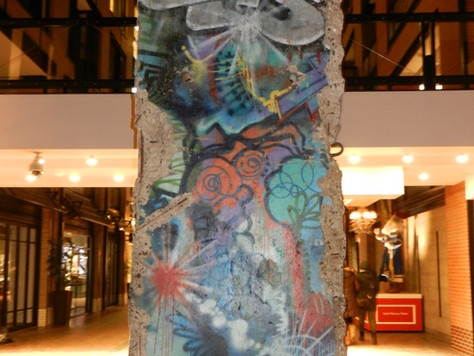 Fragment du mur de Berlin à Montréal