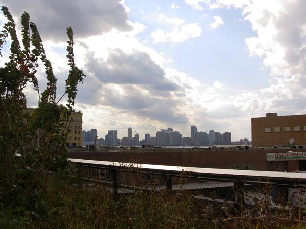 Octobre 2011, la Highline à ses débuts