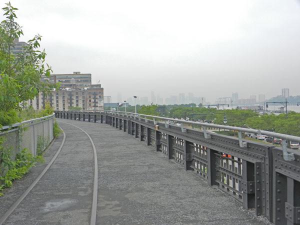 La Highline, partie nord