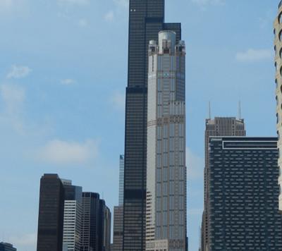 La Willis Tower et ses balcons de verre