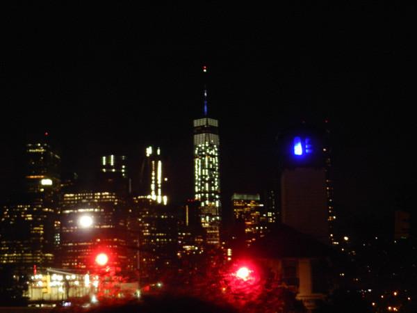 Skyline downtown et One World Trade Center