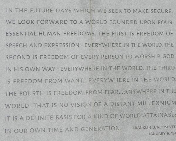 Monument des 4 libertés
