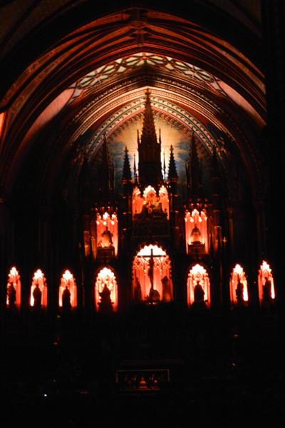 Spectacle Aura, Basilique Notre-Dame de Montréal