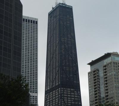 L'édifice Jock Hancock et son observatoire Chicago 360