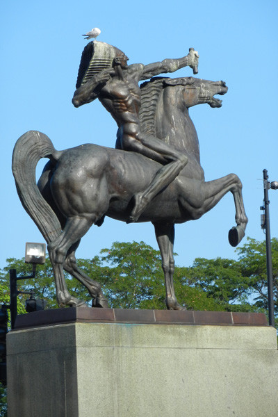 The Indian, Grant Park