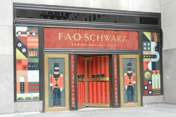 FAO Schwarz, Rockefeller Center