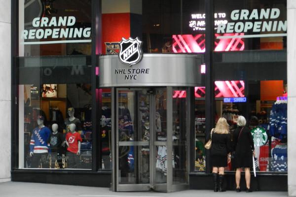 NHL Store NYC